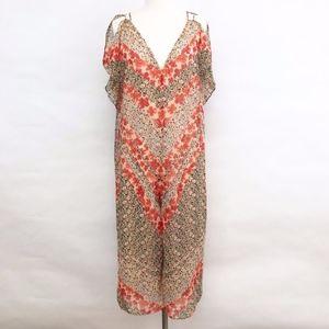 Zara Pants - zara | trafaluc long floral cold shoulder dress